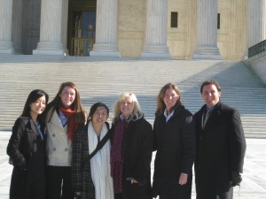 Susan Blumenthal with Interns in DC