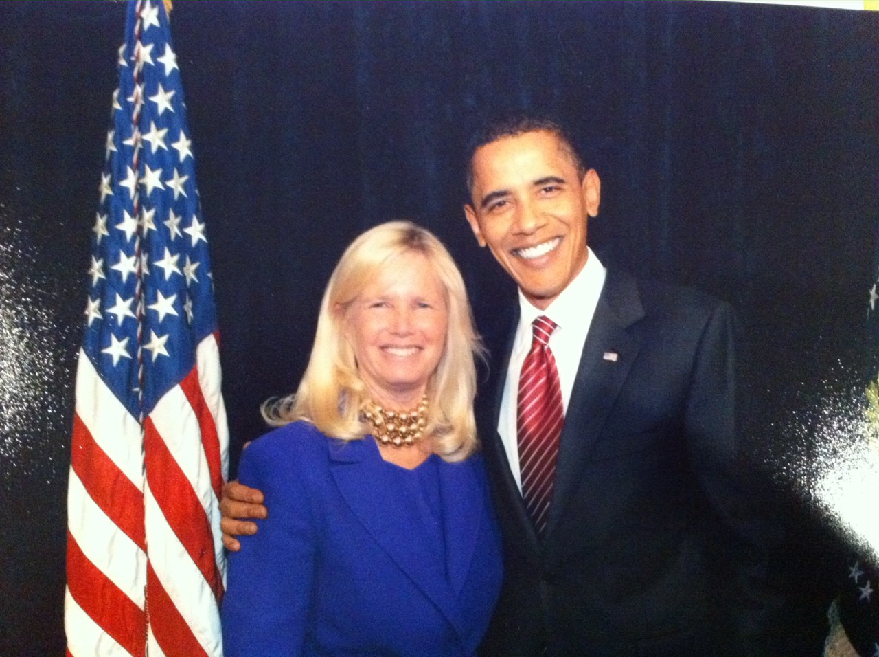 Susan Blumenthal with President Barack Obama