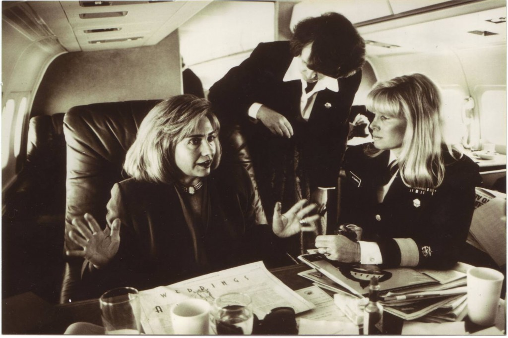Susan Blumenthal with Hillary Clinton