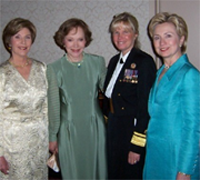Susan Blumenthal with First Ladies
